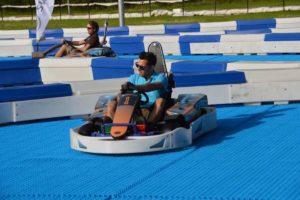 Skiddy de Neveplast: Equipamiento para Karting