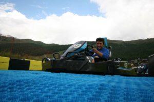 Equipamiento Neveplast para Karting